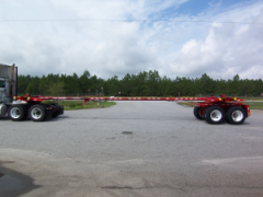 Pole / PipeTrailer - Steerable Extendable