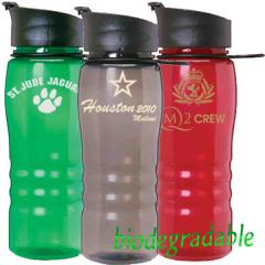 Flip Top Lid Water Bottle