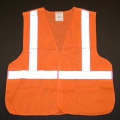 Class 2 Safety Vest W/5-point Break-away Safety