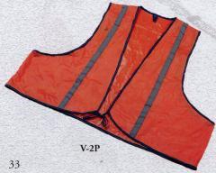 Vinyl Safety Vest