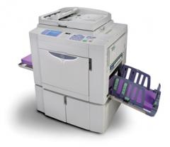 MZ1090 Two-Color, Single-Pass Digital Duplicator
