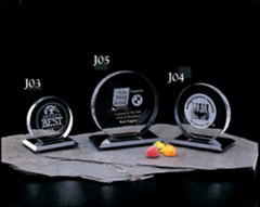 Custom Glass Trophies