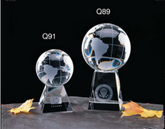 Unique Crystal Globe