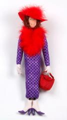 Doll Red Hat Woman