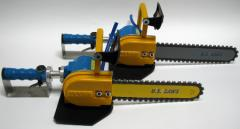 12 and 15 inch Air Powered Chain Saws