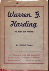 Life and Times of Warren G. Harding Our After-War