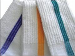 100% Cotton Stripe Bar Towels