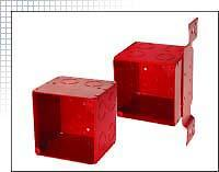 Raco® Red Boxes & Covers Large Capacity