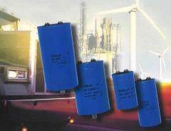 Screw Terminals Aluminum Capacitors, Power High
