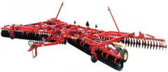 Disc Harrows Krause 7400-41 and 7400-46 Models