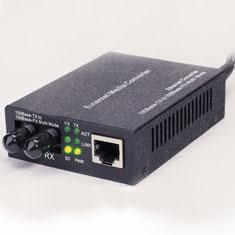 10/100Base-T Ethernet Fiber Optic Link