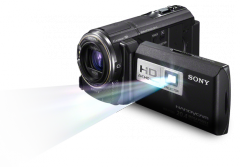 32GB Full HD Camcorder with Projector