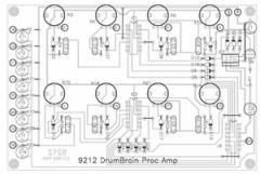 9212K Drum Sensor Processing Amplifier Building