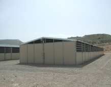Shedrow event stall systems