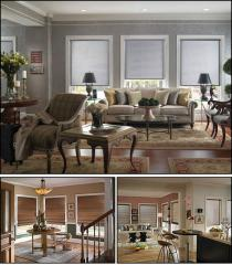 Roller and Roman Shades