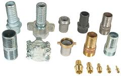 Hose Fittings with Pipe Thread
