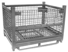 "Rigid wire basket 44"" x 54"" x"