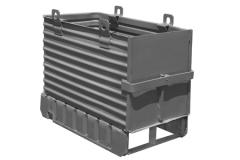"Corrugated steel container 26"" x"