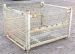 """Rigid wire basket 48"""" x 53"""" x"""