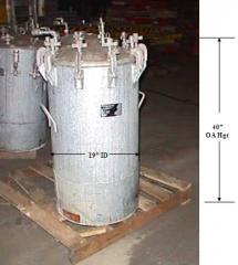 60 gallon Binks paint pot