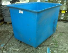 Industrial Poly-Box Truck/Utility Cart