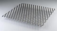 Flattened Expanded Metal