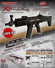 New X7 Phenom Assault Edition from Tippmann...