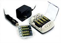 Powerex 100 Min Cool Chager w/ 8 2700mAh AA...