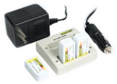 Powerex Stealth 2-Hour 4 Bank 9-Volt Charger w/ 3