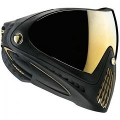 Dye i4 Paintball Goggle - Black with Gold