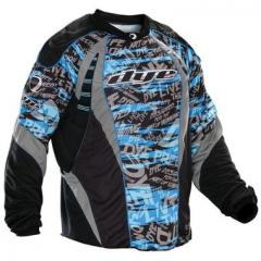 Dye 2012 Paintball Jersey - Blue Tiger