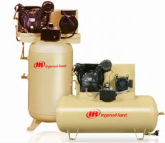 Two Stage Electric Air Compressors Ingersoll Rand