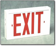 Exit Signs - Fluorescent - XP