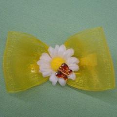 Butterflies & Daisies Bow