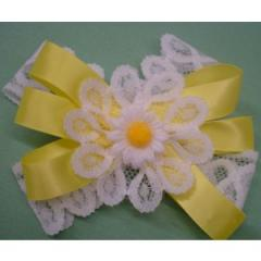 Daisy And Lace Bow