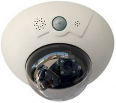 IP Fixed Dome Cameras Color, Wide Angle 43mm, 3