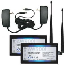 Avalan 900 MHz Long Range Wireless Ethernet Kit,