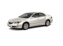 2012 Acura RL with Technology Package Vehicle