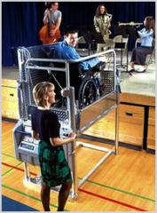 Commercial Indoor Portable Wheelchair Lifts