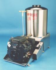 Gas Engine, LP Gas-Fired, Hot Pressure Washer