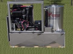 Diesel Engine, Diesel-Fired, Hot Pressure Washer