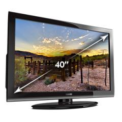 "Toshiba 40E220U 40"" Class 1080P HD LCD TV"