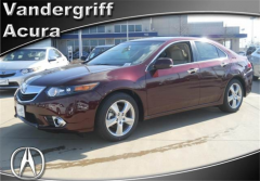 2012 Acura TSX 5-Speed Automatic Vehicle