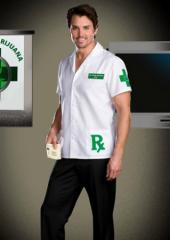Dr. Herb Smoker Mens Adult Costume