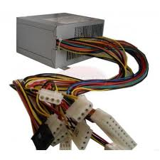 500 Watt Power Supply with Dual Fans