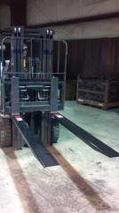 "4"" Wide Pallet Fork Extensions"