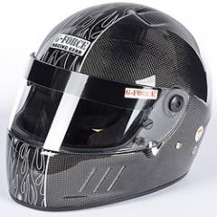 G-FORCE CFG Carbon Fiber Snell SA2010 Helmet