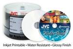 JVC Taiyo Yuden 16X DVD-R, WaterShield, White