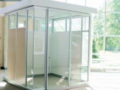 Pathways Glass Privacy Wall System