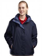Waterproof nylon 3-in-1 jacket